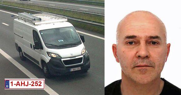 Op 2 juni verliet de loodgieter in een witte bestelwagen van het merk Peugot zijn woning in Lint, in de provincie Antwerpen.