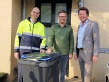 Papiercontainers van gerecycled materiaal in Wijchen