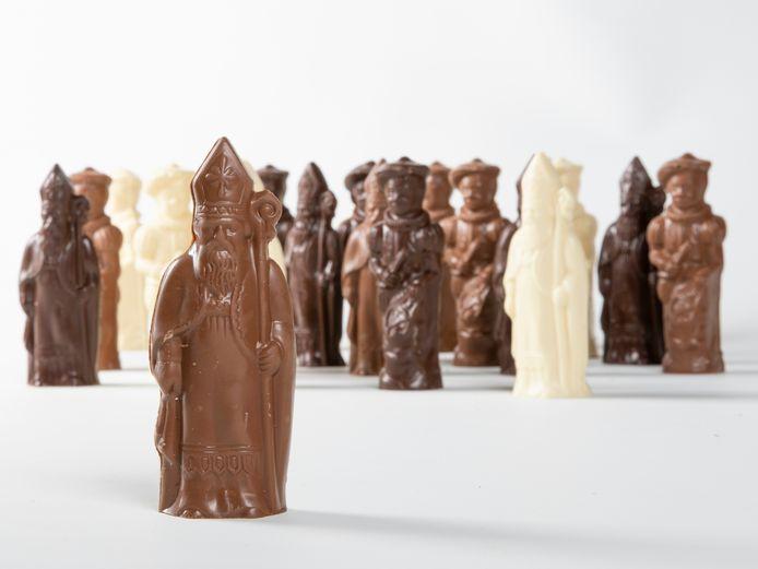 TWERK heeft nog duizenden chocoladen figuurtjes voor Sinterklaas in stock.