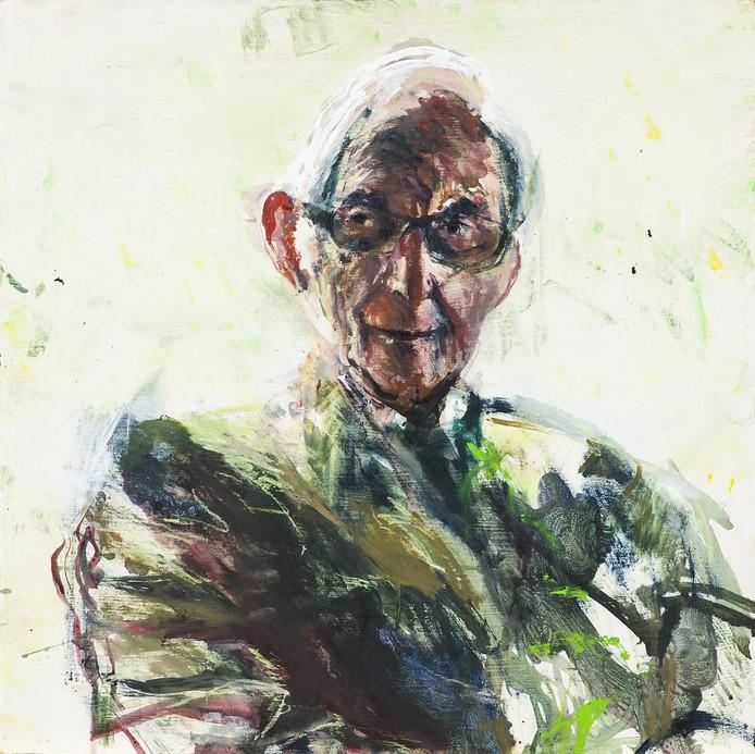 Sam Drukker schilderde tien portretten van Joodse mannen die de Tweede Oorlog bewust meemaakte.