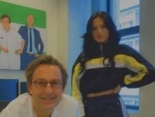 Famke Louise houdt woord en brengt een bezoek aan Diederik Gommers in het Erasmus Medisch Centrum