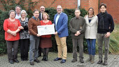 Feest van de Burgemeester brengt 2.445 euro op voor Natuurpunt