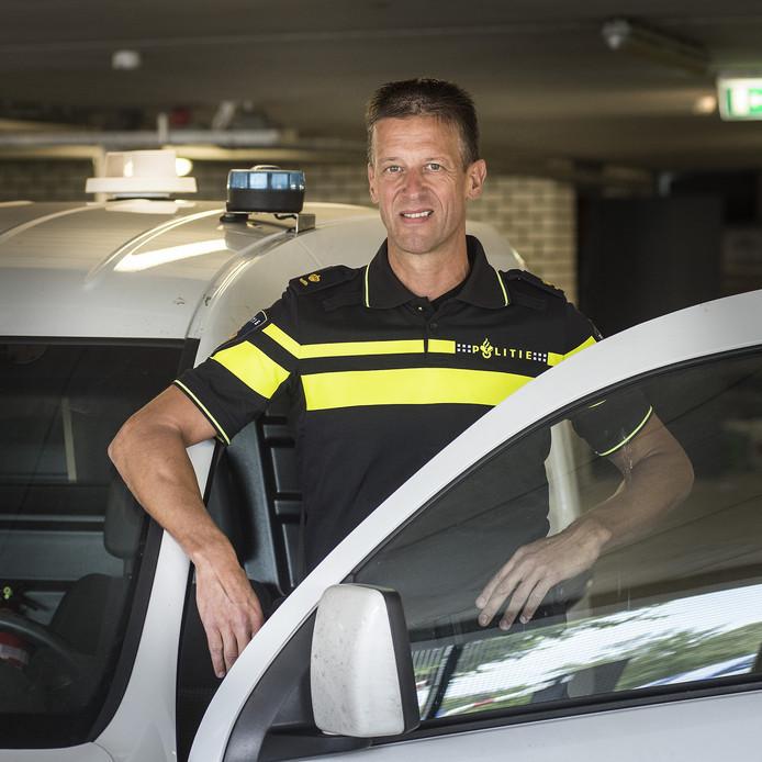 Rienk de Groot, chef recherche in de politieregio Zeeland-West-Brabant.