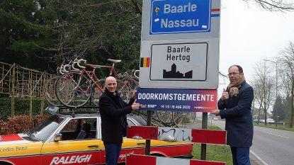 Spaanse wielerronde 'La Vuelta' doorkruist Baarle-Nassau én een klein stukje Baarle-Hertog
