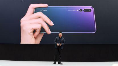 Huawei lanceert smartphone met vier camera's