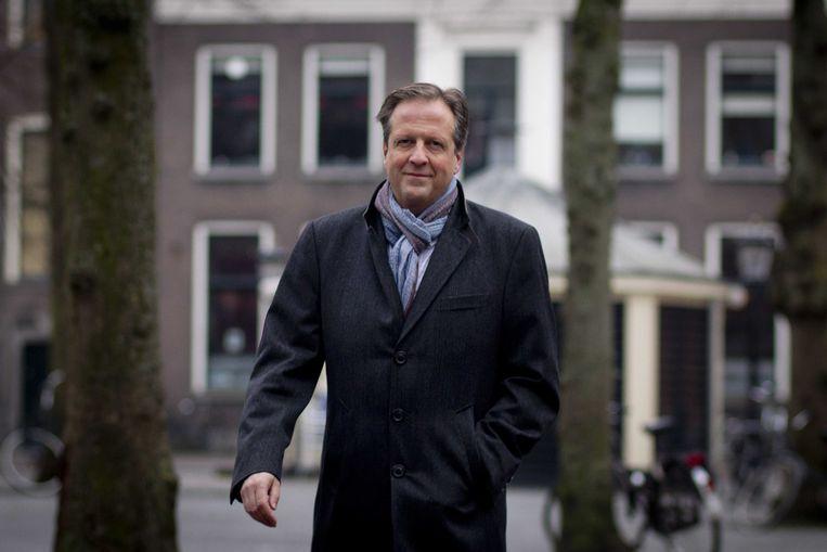 D66-leider Alexander Pechtold bij de aftrap van de campagne voor gemeenteraadsverkiezingen op 19 januari. Beeld anp