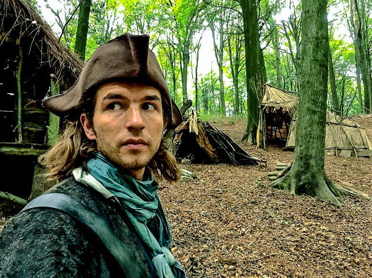 Matteo Simoni in 'De Bende van Jan de Lichte'.