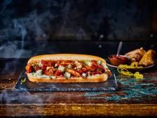 Smokey Kipstuckjes Sandwich