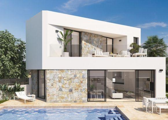Villa met 3 slaap- en 3 badkamers, 324.900 euro.