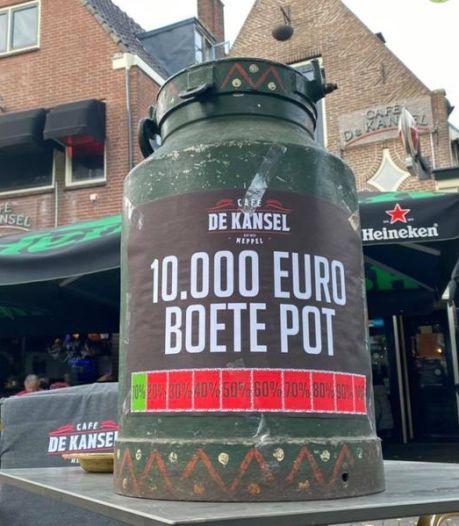 Meppels café collecteert om coronaboete van 10.000 euro te betalen