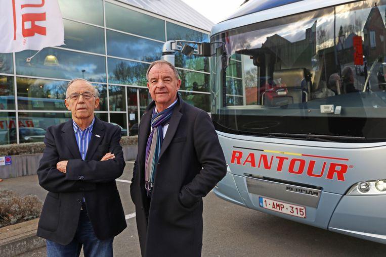 Stichter Antoine Rollier (links) met zijn zoon en opvolger Kurt. De foto dateert van begin vorig jaar.