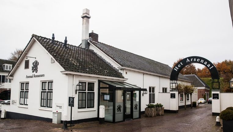 Het restaurant in Het Arsenaal in Naarden-Vesting, dat volgens het OM werd bedoeld met 'Ome Jan'. Beeld Aurélie Geurts