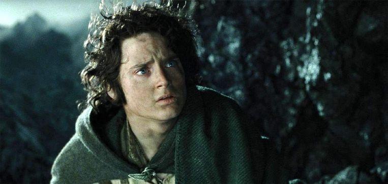 Hoofdrolspeler Elijah Wood in The Return of the King.  Beeld ANP