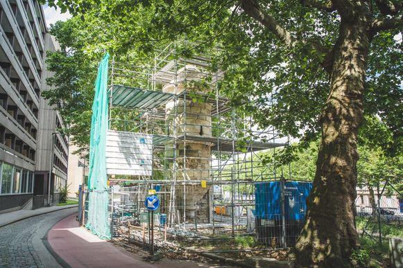 De restauratie van de Peperbus is bijna afgerond.