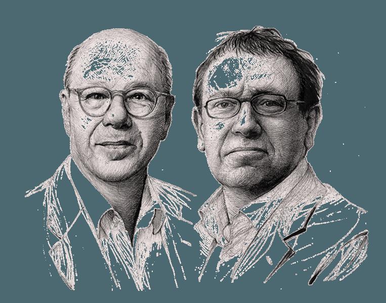 Max Pam en Paul Brill Beeld Artur Krynicki