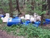 Weer drugsdumpingen in West-Brabant, bestelbus verliest chemische vloeistof tijdens rijden
