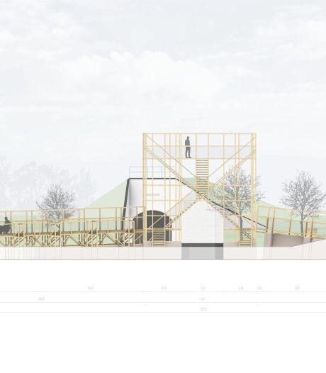Architecten 'houten skelet' Brielle geven uitleg