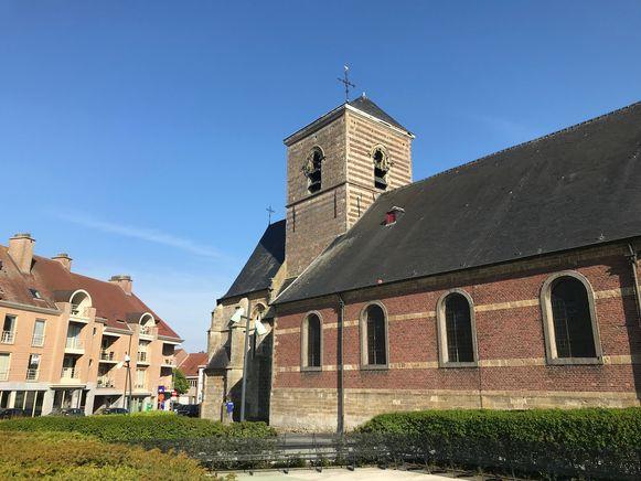 De kerk van Nieuwerkerken.