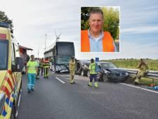 Chris de Vaan vangt kinderen op na busongeluk Oirschot: 'Ik wilde ze zo snel mogelijk een veilige plek bieden'