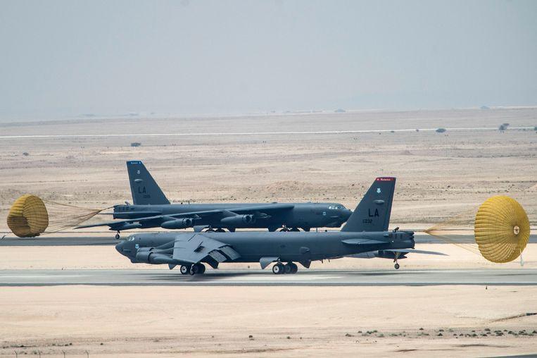 Archiefbeeld. Luchtmachtbasis al-Udeid te Qatar.