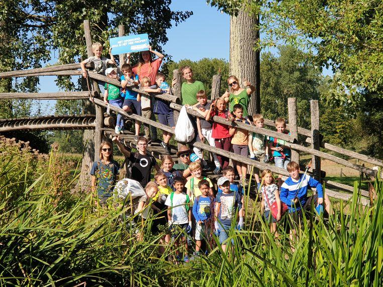 Afgelopen weekend hield Jeugdbond voor Natuur en Milieu Pajottenland een grote zwerfvuilactie voor de World Cleanup Day.