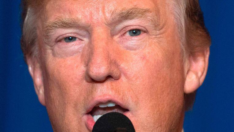 President Donald Trump Beeld null