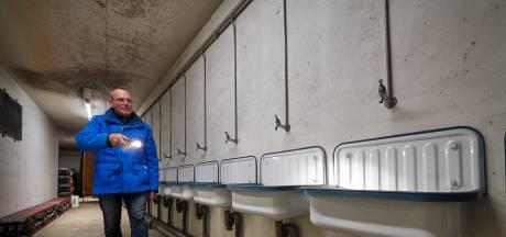 In deze unieke atoomschuilkelder hadden 3.800 Ossenaren moeten vechten voor een plek als de bom zou vallen