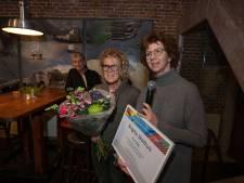 Kunstprijs Kampen voor de 'kaartenkar' van de Stadsdichteres