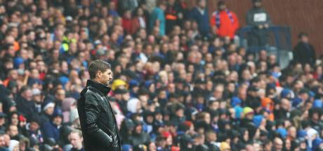 Steven Gerrard teleurgesteld na forse zege Rangers