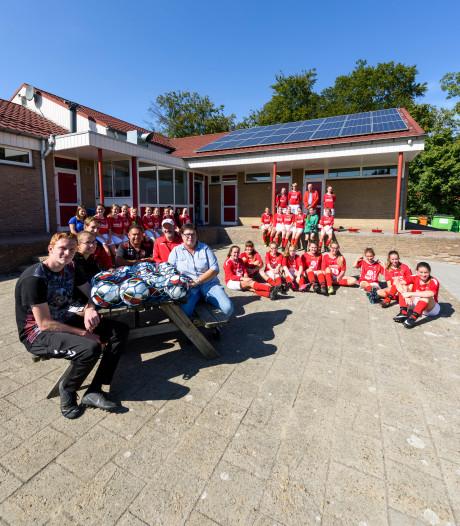 Saamhorigheid is bij SJVV uit Deurne de rood-witte draad