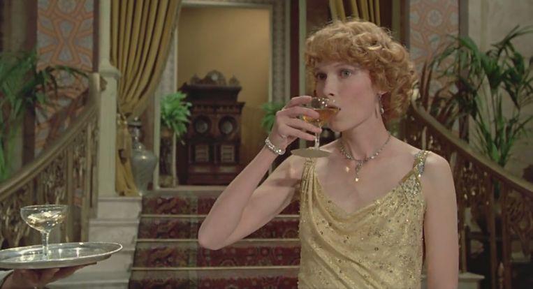 Mia Farrow in Death on the Nile van John Guillermin. Beeld