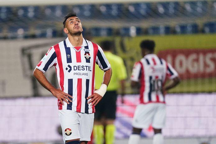 Vangelis Pavlidis voelt zich machteloos bij de thuiswedstrijd tegen FC Twente.