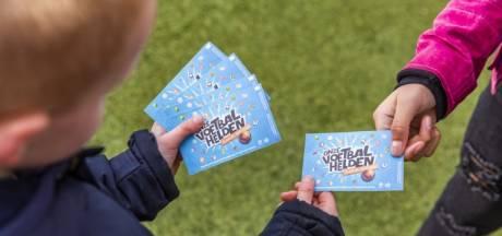 Gratis voetbalplaatjes Albert Heijn nu voor paar euro te koop op Marktplaats
