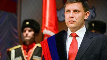 Leider zelfverklaarde republiek Donetsk bij bomexplosie omgekomen