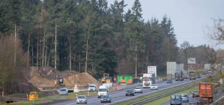 Bouw ecoduct A35 bij Enschede hervat: 'we werken de hele zomer door'