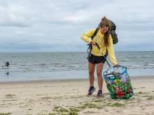 Steef bereikt Zeeland op haar afvaltocht langs de Noordzeekust: 'Zandvoort was het smerigst'