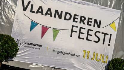 Drie gemeenten vieren gezamenlijk Vlaamse feestdag