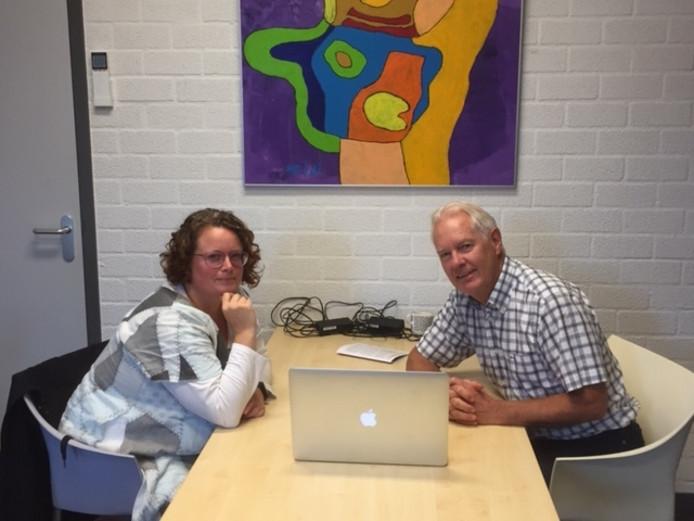 Ghita Hergarden en Maarten Klomp
