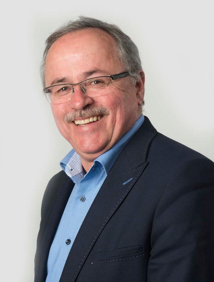 Waarnemend dijkgraaf Mathieu Gremmen van Waterschap Rivierenland.