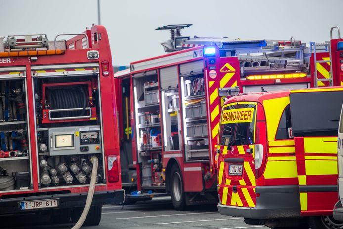 HALLE: Brandweer illustratiebeeld