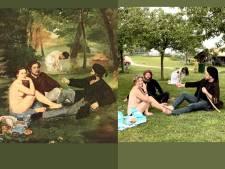 Fotokunst in corona-quarantaine: met je blote kont in het gras á la Degas