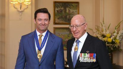 Hugh Jackman krijgt onderscheiding van de Queen