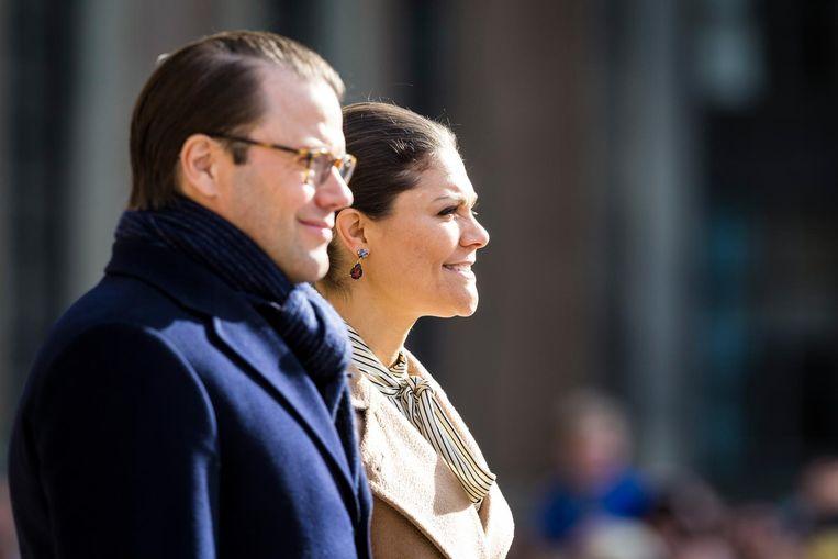 Kroonprinses Victoria en haar man Daniel
