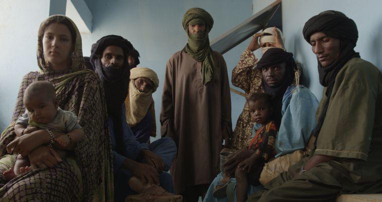De Missie, de documentaire die Robert Oey maakte over de Nederlandse bijdrage aan de VN-missie in Mali. Beeld