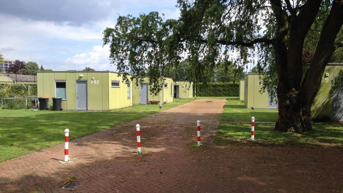 De zogenaamde 'asowoningen' Skaeve Huse in Tilburg.