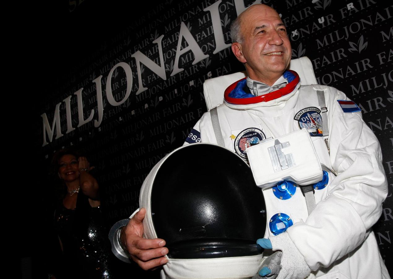 Astronaut Wubbo Ockels in 2007.