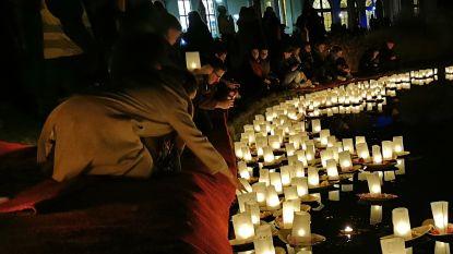 1.500 lichtgevende bootjes voor Julie Van Espen