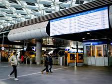 Problemen tussen stations Den Haag en Dordrecht door defect spoor