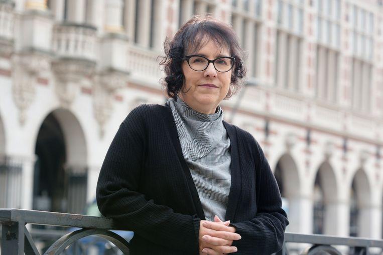 Theoloog Cecilia González-Andrieu: 'We doen onze menselijke solidariteit zwaar tekort.' Beeld Sander de Wilde