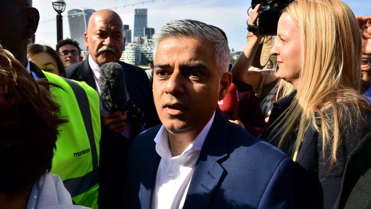 Sadiq Khan, de volgende burgemeester van Londen.